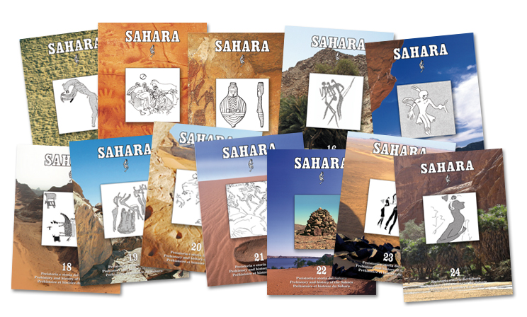 Back issues of Sahara are available from volume 5 through volume 13